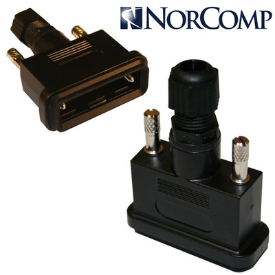 防水Dsub Norcomp 967-009-010R011